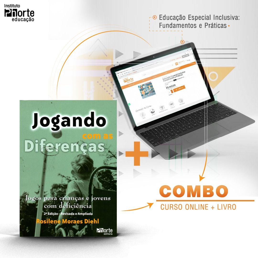 Combo Educação Especial 2  - Cursos distância e aulas online Instituto Phorte Educação.