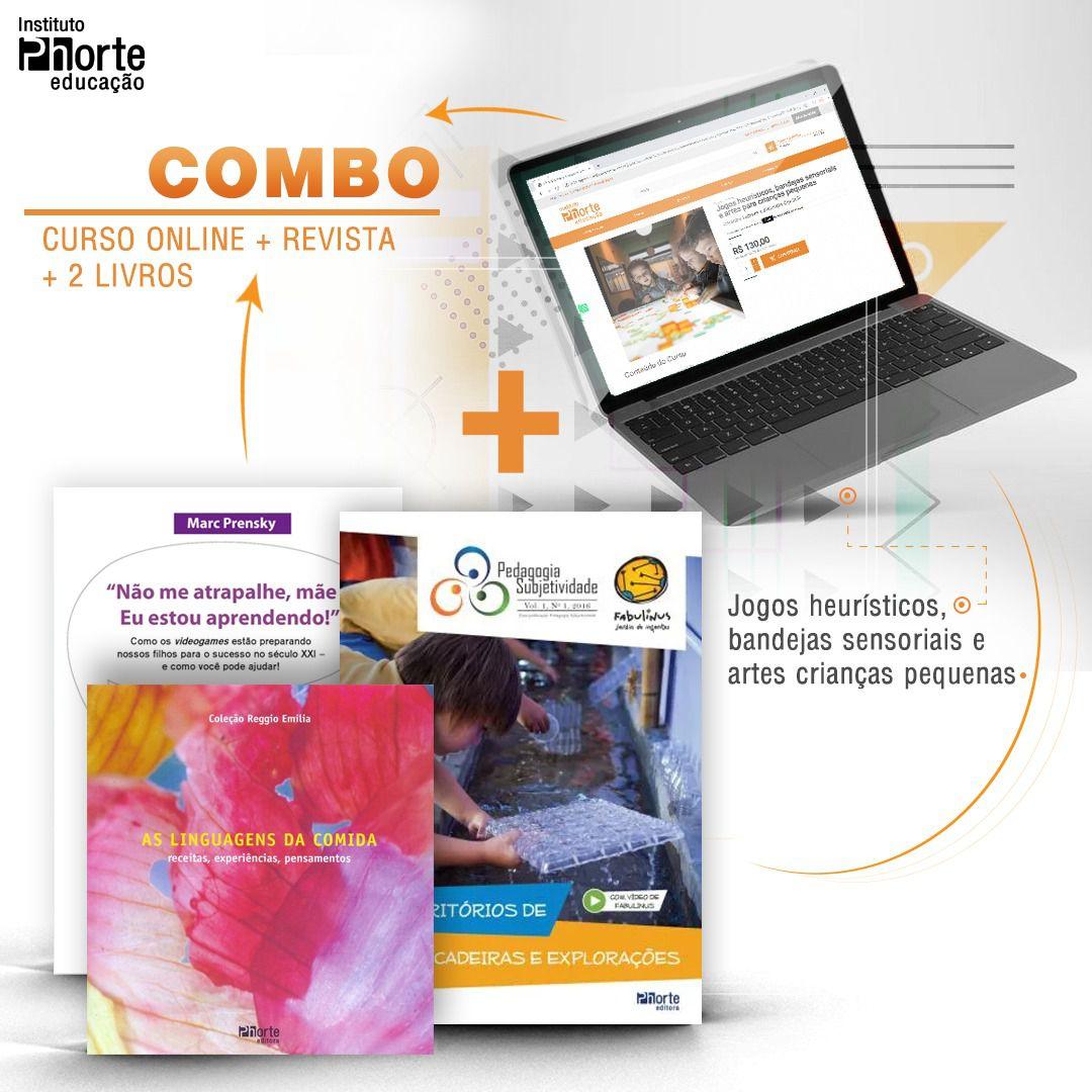 Combo Educação Infantil 1  - Cursos distância e aulas online Instituto Phorte Educação.