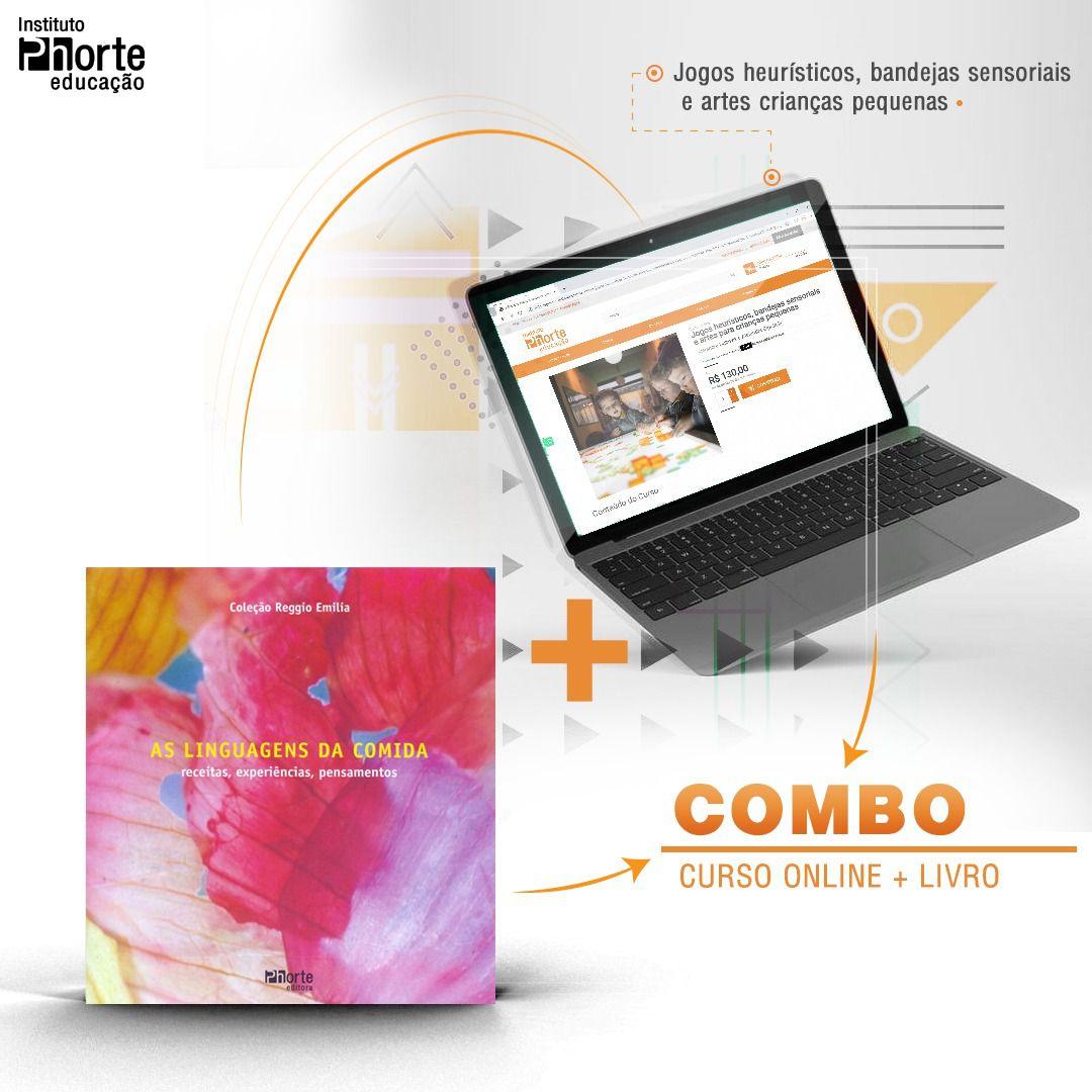 Combo Educação Infantil 4  - Cursos distância e aulas online Instituto Phorte Educação.