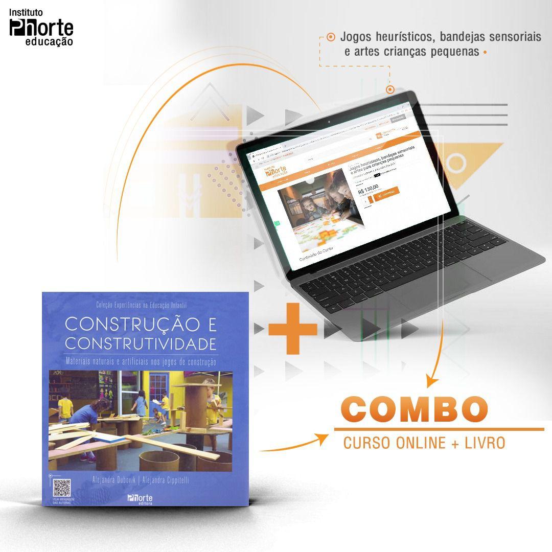 Combo Educação Infantil 6  - Cursos distância e aulas online Instituto Phorte Educação.