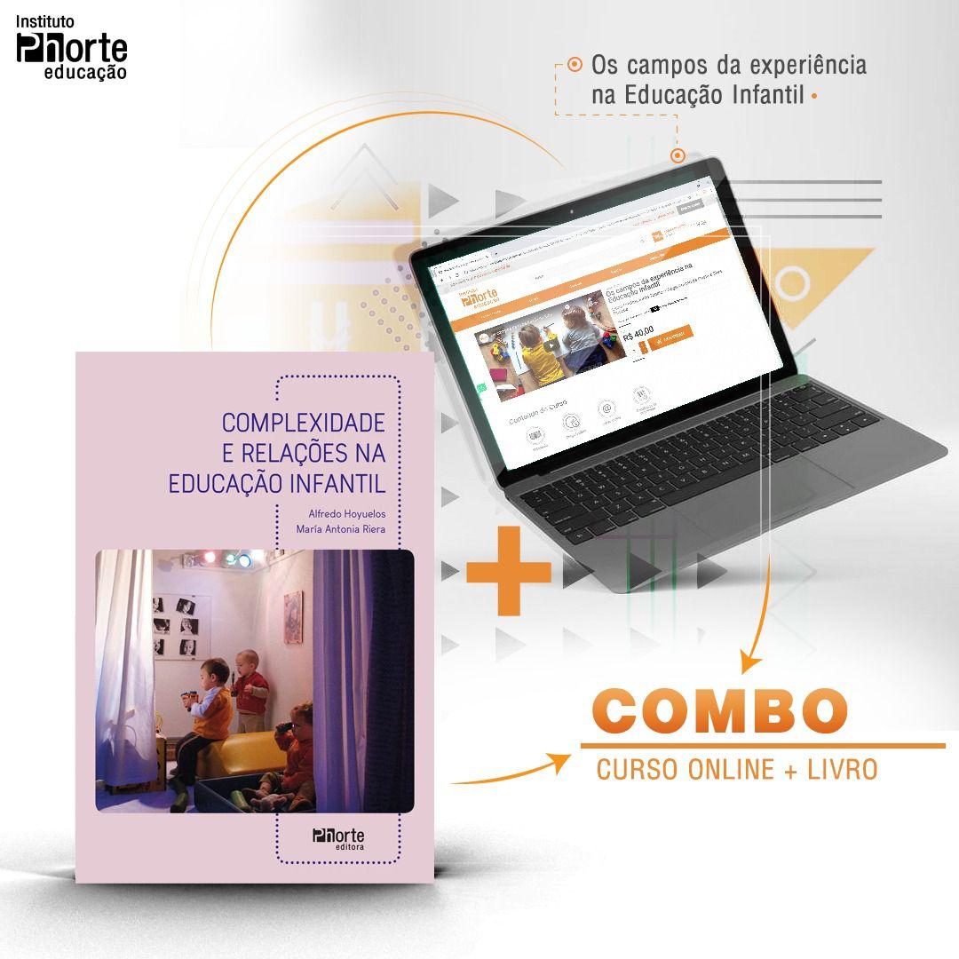 Combo Educação Infantil 8  - Cursos distância e aulas online Instituto Phorte Educação.