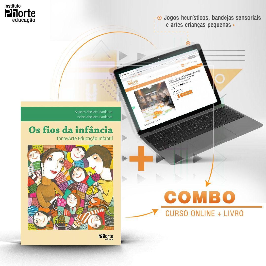 Combo Educação Infantil 9  - Cursos distância e aulas online Instituto Phorte Educação.
