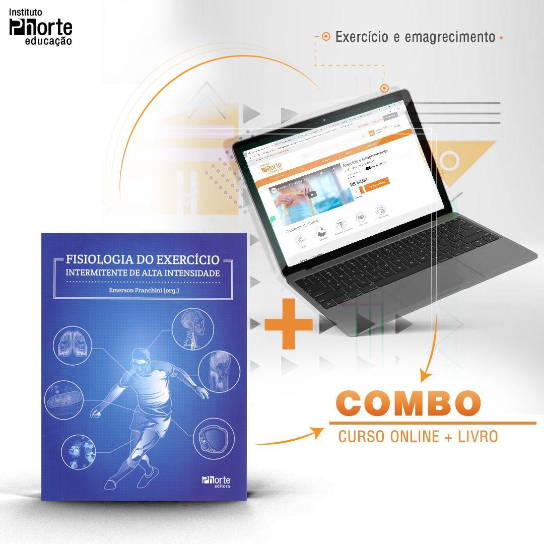 Combo Emagrecimento 3  - Cursos distância e aulas online Instituto Phorte Educação.