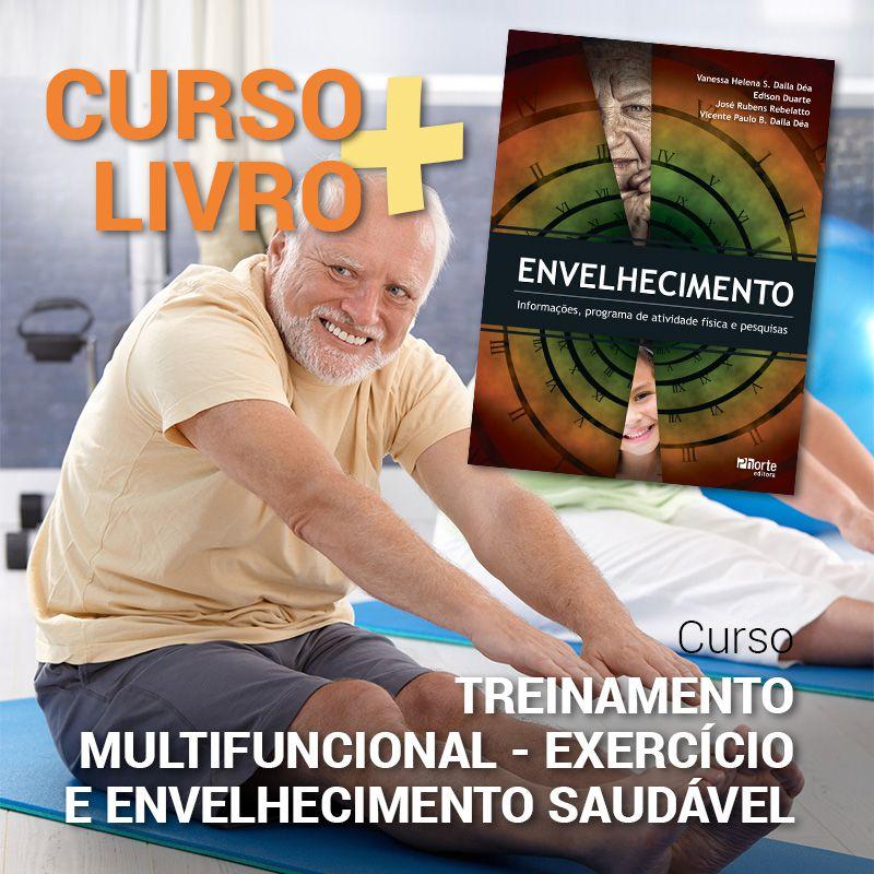 Combo Envelhecimento Saudável  - Cursos distância e aulas online Instituto Phorte Educação.