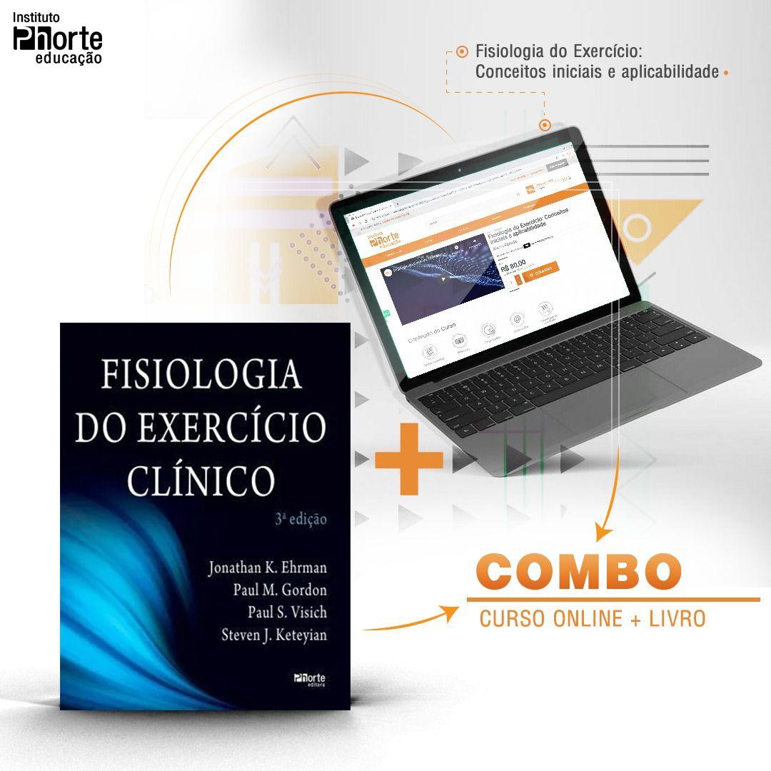 Combo Fisiologia 1  - Cursos distância e aulas online Instituto Phorte Educação.