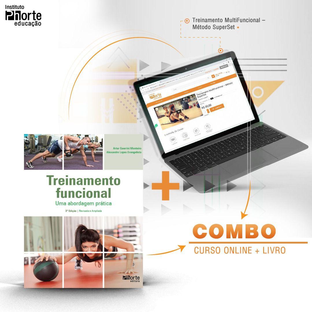 Combo Funcional 3  - Cursos distância e aulas online Instituto Phorte Educação.