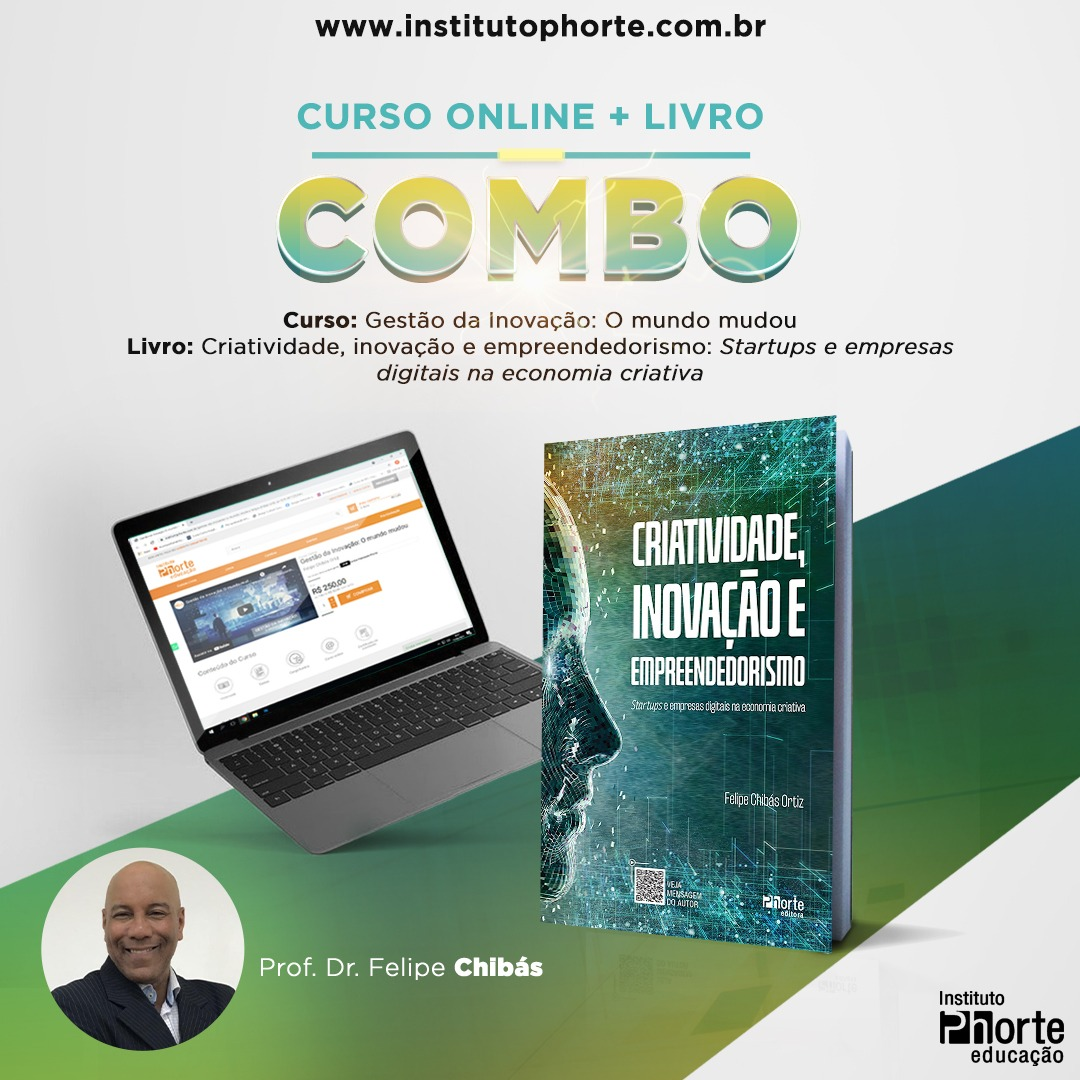 Combo Gestão (Felipe Chibás Ortiz)  - Cursos distância e aulas online Instituto Phorte Educação.