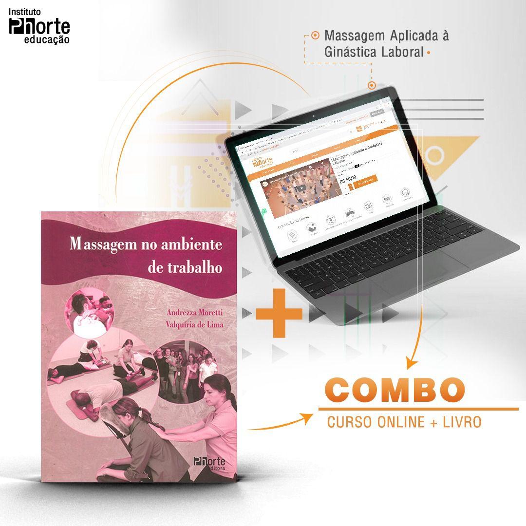 Combo Massagem  - Cursos distância e aulas online Instituto Phorte Educação.