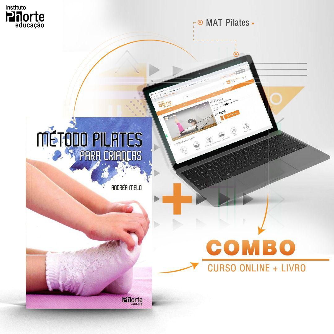 Combo Pilates 3  - Cursos distância e aulas online Instituto Phorte Educação.