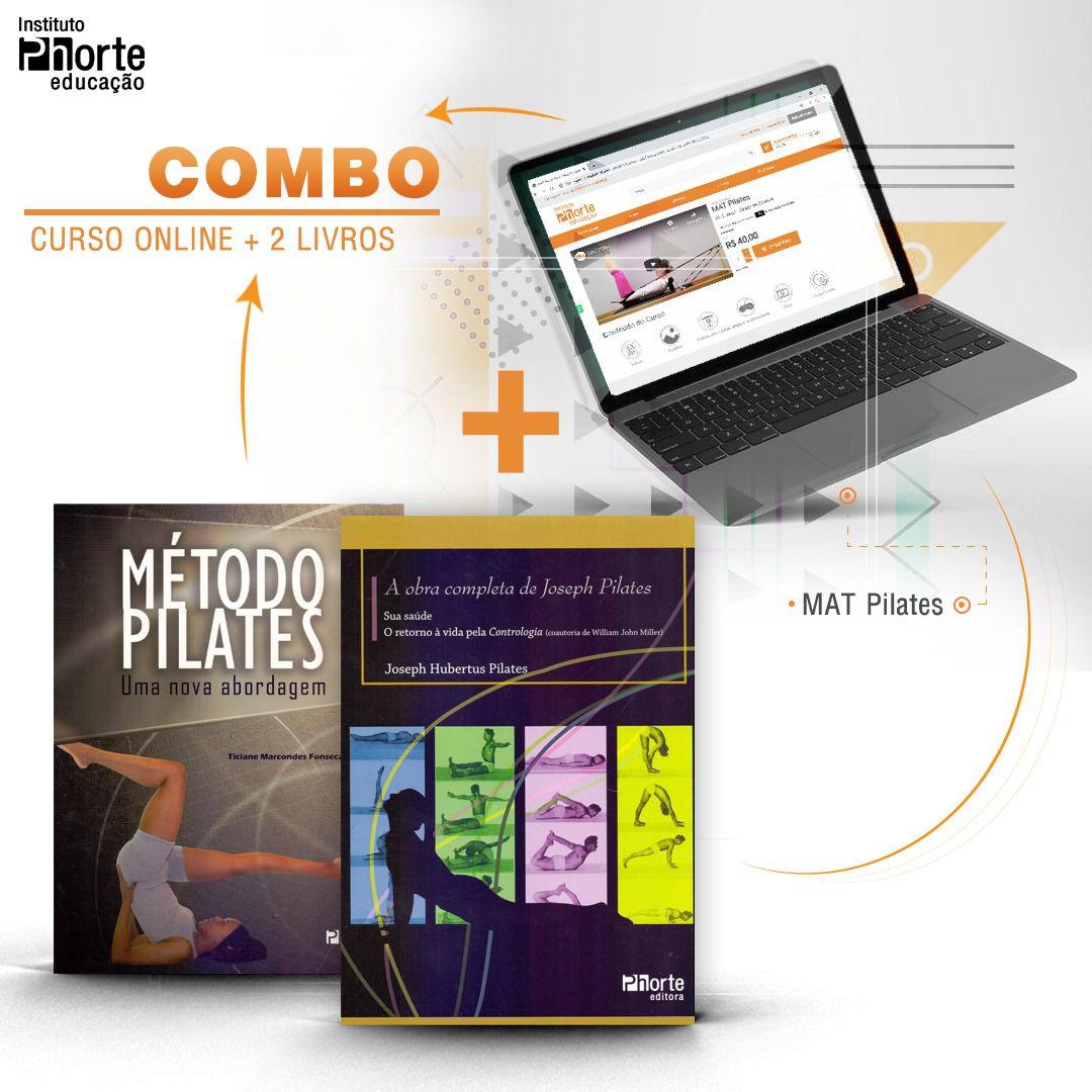 Combo Pilates  - Cursos distância e aulas online Instituto Phorte Educação.