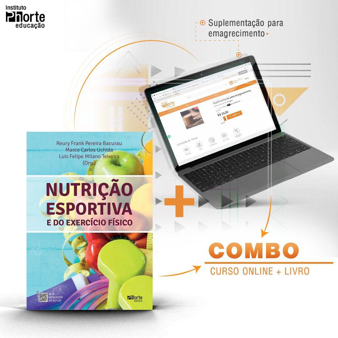 Combo Suplementação 1  - Cursos distância e aulas online Instituto Phorte Educação.