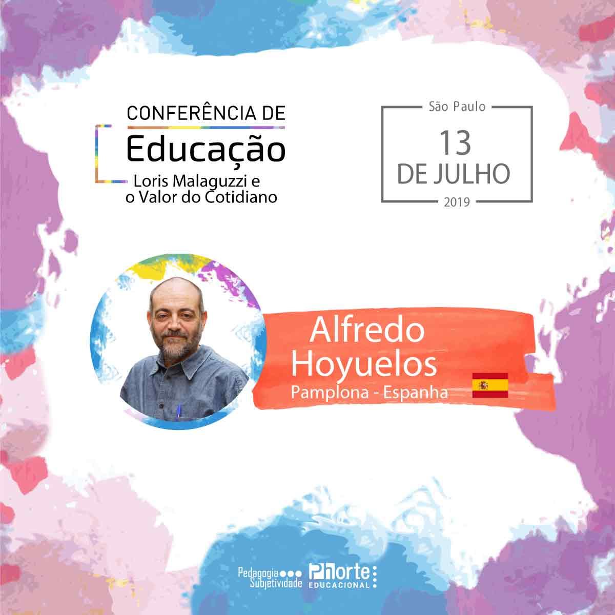 Conferência de Educação - Loris Malaguzzi e o Valor do Cotidiano + o livro do autor Alfredo Hoyuelos  - Cursos distância e aulas online Instituto Phorte Educação.