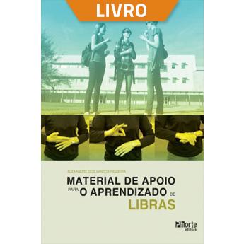 Material de apoio para o aprendizado em LIBRAS (Livro)  - Cursos distância e aulas online Instituto Phorte Educação.