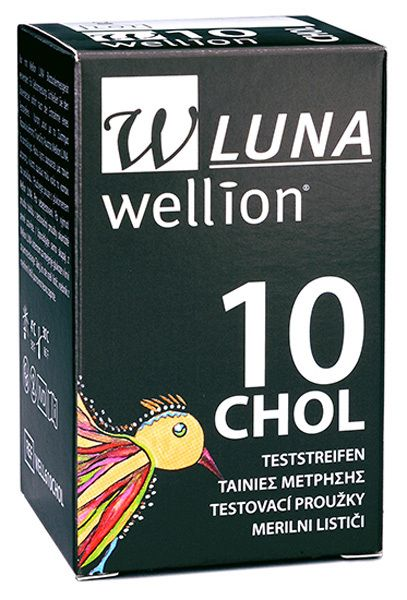 Tira Para Colesterol c/ 10 Unidade  - WELLION