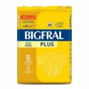 Fralda Plus Geriátrica G (Pacote c/8 Unidades) - BIGFRAL