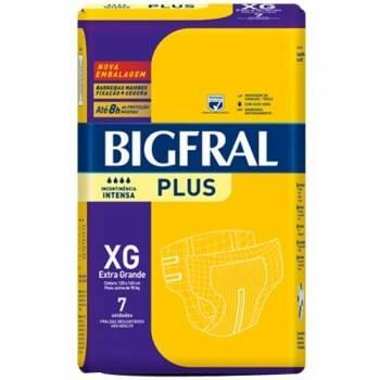 Fralda Plus Geriátrica XG (Pacote c/ 7 Unidades) - BIGFRAL