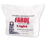 Campo Operatório Não Estéril Light 27 Pacote c/ 50 Unidades C/ Raio X - FAROL