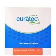 Alginato de Cálcio e Sódio 10cm X 10cm Caixa c/ 10 Unidades - CURATEC