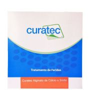 Alginato de Cálcio e Sódio Fita 30 cm Caixa c/ 10 Unidades - CURATEC