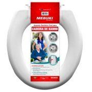 Assento Sanitário Oval Para Cadeira de Banho Fechada - MEBUKI