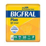 Fralda Plus Geriátrica P (Pacote c/ 10 Unidades) - BIGFRAL