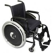 Cadeira de Rodas AVD Alumínio Tamanho 40 - ORTOBRAS