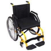 Cadeira de rodas Modelo Sol Plus Tamanho 44 Vermelha - CDS