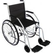 Cadeira de Rodas Raiada Modelo 101 Cinza - CDS