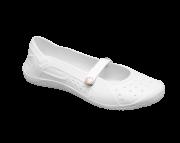 Sapatilha Antiderrapante Branca (Tamanho 35) - SOFT WORKS