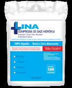 Compressa de Gaze Não Estéril 13 fios c/ 500 Unidades - LINA