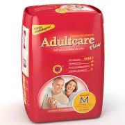 Fralda Geriátrica Plus M (Pacote C/ 10 Unidades) - ADULTCARE