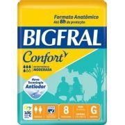 Fralda Geriátrica Confort  G (Pacote c/ 8 unidades) - BIGFRAL