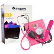 Kit Acadêmico Ka100 Pink - INCOTERM
