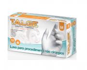 Luva de Procedimento Látex Tamanho M Caixa c/ 10 Cartuchos - TALGE