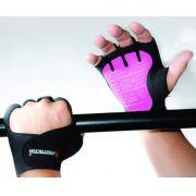 Luva de Musculação Rosa P - PROTTECTOR
