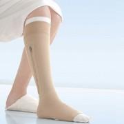 Meia de Compressão Jobst Ulcercare 40mmgh  Panturrilha Zíper do Lado Esquerdo XG - BSN MEDICAL