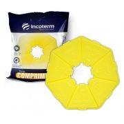 Porta Comprimidos Básico Amarelo - INCOTERM