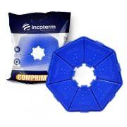 Porta Comprimidos Básico Azul - INCOTERM