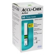 Tira de Glicemia Active c/ 50 Unidades - ACCU-CHECK