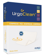 Urgo Clean Pad 10 cm X 10 cm Caixa c/ 10 Unidades - LM FARMA
