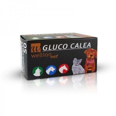 Tiras Reagentes Gluco Calea para Gatos, Cães e Cavalos - WELLION