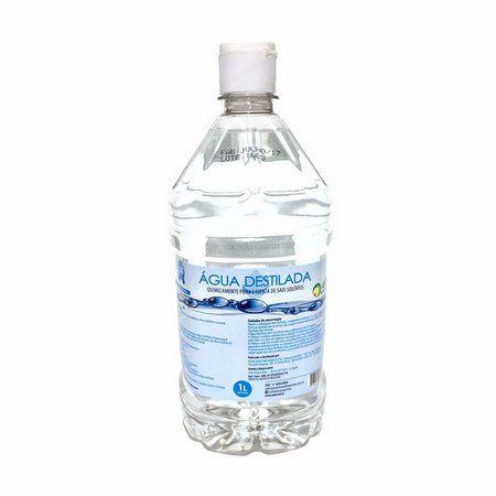 Água Destilada 1 Litro Caixa c/ 12 Unidades - ASFER