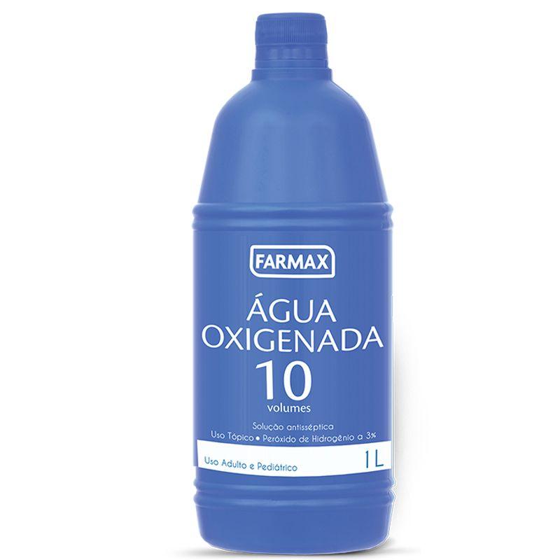 Água Oxigenada 10 volumes 1L - Farmax