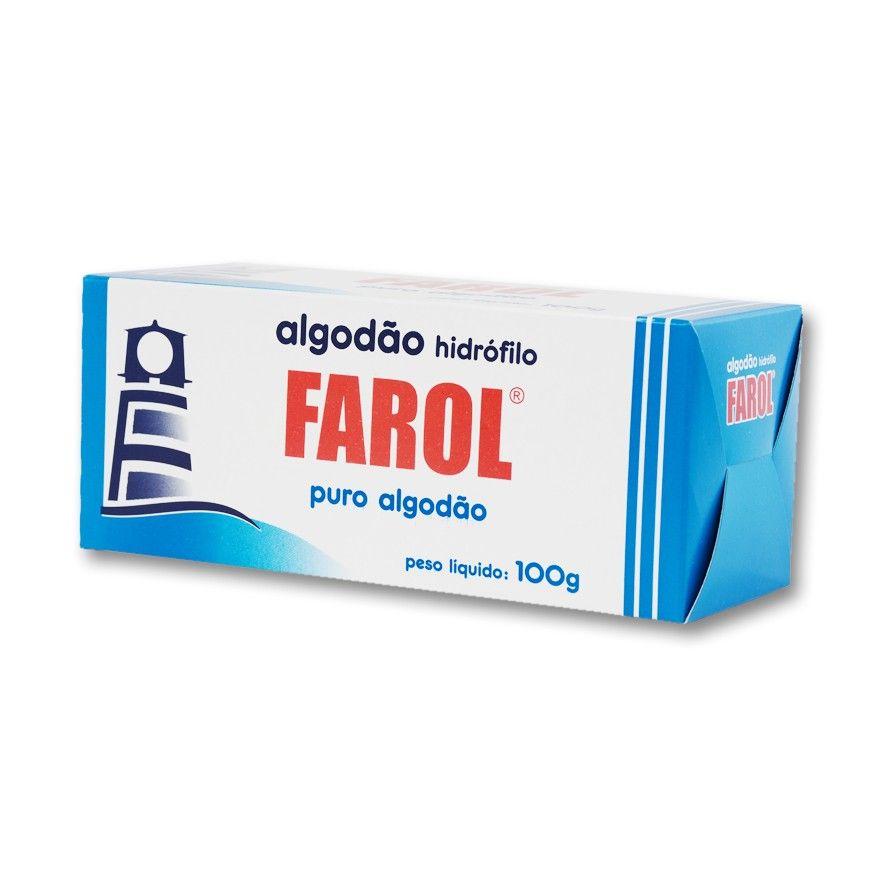 Algodão Hidrófilo 100g - FAROL