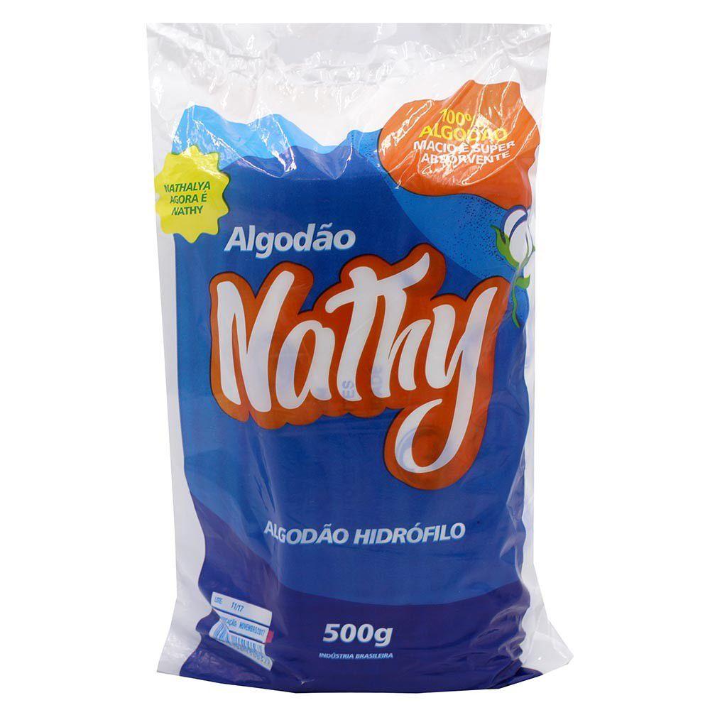 Algodão Hidrofilo Rolo 500g - NATHY