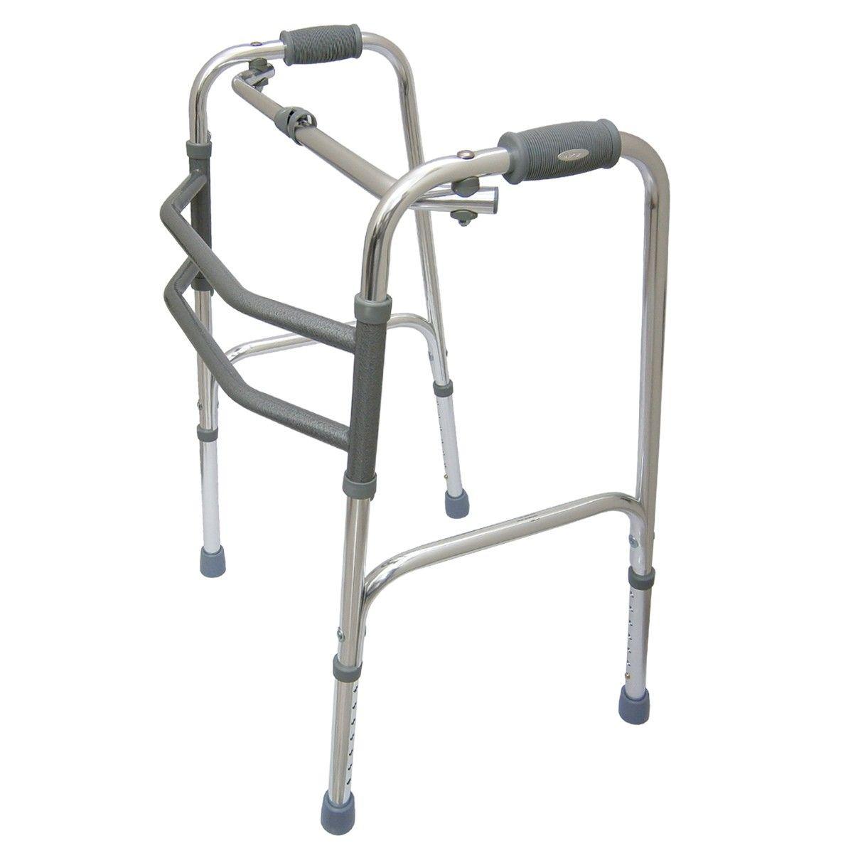 Andador de Alumínio (Dobrável) Prata - MERCUR
