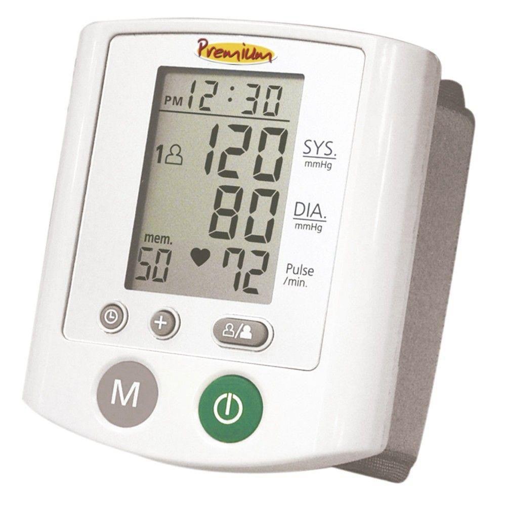 Aparelho De Pressão Digital Automático de Pulso RS380 - PREMIUM