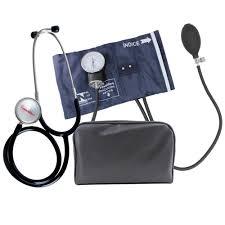 Aparelho de Pressão Manual c/ Estetoscópio Adulto - PREMIUM