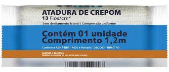 Atadura de Crepom 10 CM X 1,2 MT 13 Fios - NEVE