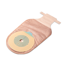 Bolsa de Colostomia c/ Borda Microporosa 60 mm (Com Clamp) - VITAL MEDICAL